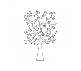 חותמת גומי HD עץ החיים 7*11 סמ