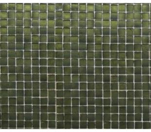 פסיפס זכוכית בגוון ירוק במבוק 30*30 סמ