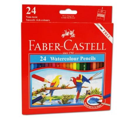 סט עפרונות אקוורל איכותיים פאבר קסטל (ב-3 גדלים)