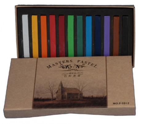סט 12 גירי פסטל יבש צבעוני מאריס