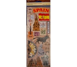 מדבקות סממני ארצות - ספרד