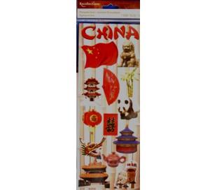 מדבקות סממני ארצות - סין