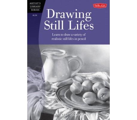 ספר ללימוד ציור בעפרונות רישום - עצמים דוממים