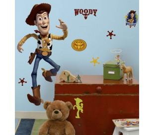 מדבקת קיר וודי מצעצוע של סיפור -ענקית