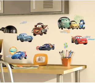 מדבקות קיר גיבורי הסרט מכוניות