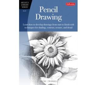 ספר ללימוד ציור עם עפרונות רישום