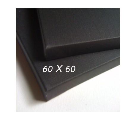 קנבס שחור איטלקי גודל 60X60