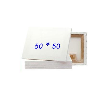 להפליא מארז 10 יח' קנבס לציור על מסגרת עץ 50*50 סמ - בד קנבס סיני - ארט דיפו MU-19