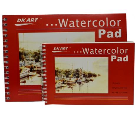 בלוק לציור בצבעי מים 300 גר' (ב 3 גדלים)