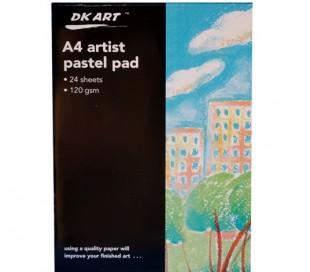 בלוק לציור עם צבעי פסטל