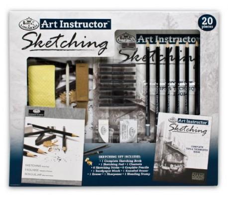 ערכת רוייאל ללימוד ואימון ציורי רישום