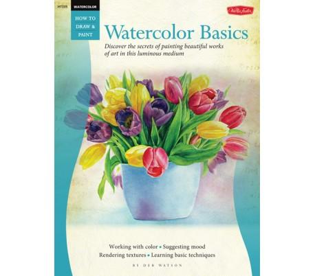 ספר ללימוד ציור בצבעי מים - טכניקות בסיסיות