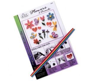קיט ליצירות קווילינג - פרחים וחברים