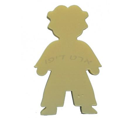חיתוכי קלקר בדמות ילד -  5 יחידות