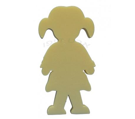 חיתוכי קלקר בדמות ילדה -  5 יחידות