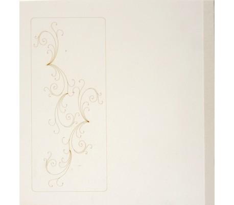 אלבום לעיצוב עם עיטור על עץ לבן