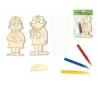 סט רפואה - ערכה לצביעת דמויות מעץ