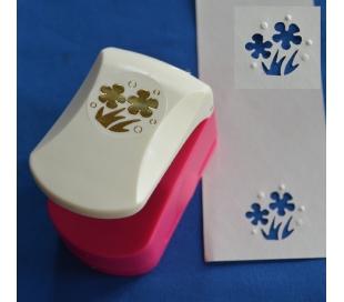 פאנצ'ים עם תבליט - גינת פרחים