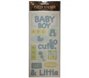 מדבקת עיצוב קיטפתית לתינוק