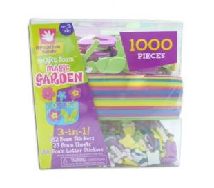 ערכת יצירה עם סול בקופסא עם 1000 חלקים - קסם בגינה