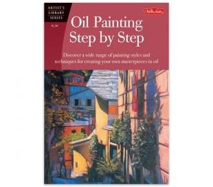 ספר ללימוד ציור עם צבעי שמן - שלב אחר שלב