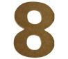 מספרים מעץ MDF ליצירה