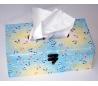 קופסת טישו עם נייר אוריגמי