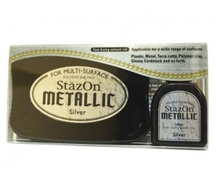 כרית דיו זהב מטאלי StazOn Metallic