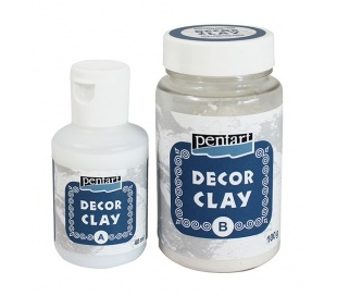 חימר דקורטיבי ליציקה בתבנית 100ג  DECOR CLAY