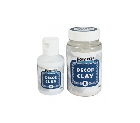 חימר דקורטיבי ליציקה בתבנית  DECOR CLAY