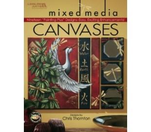 חוברת ליצירות מיוחדות על קנבס Mixed Media