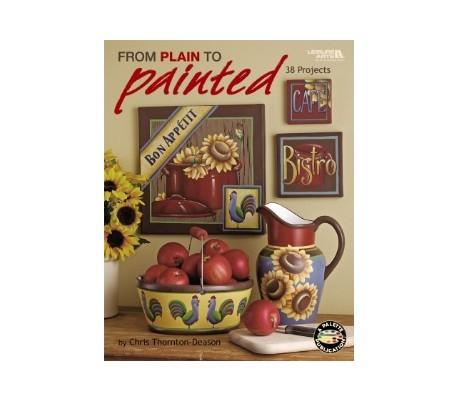 חוברת ליצירות עם צבע   PAINTED