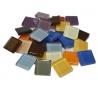 """פסיפס זכוכית קריסטל צבעוני 2*2 סמ במארז 1/2 ק""""ג"""
