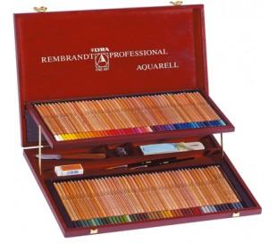 סט 96 עפרונות אקוורל מקצועי רמברנט לירה LYRA
