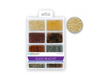 חרוזי זכוכית 8 סוגים - אדמה